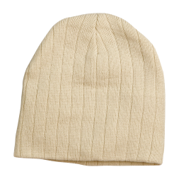 Cable Knit Beanie With Fleece Head Band